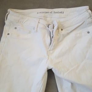 Articles Of Society Jeans - Stretchy white jeans